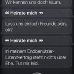 Siri - Heirate mich!