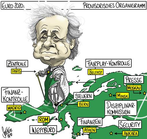 Platini - Euro 2020