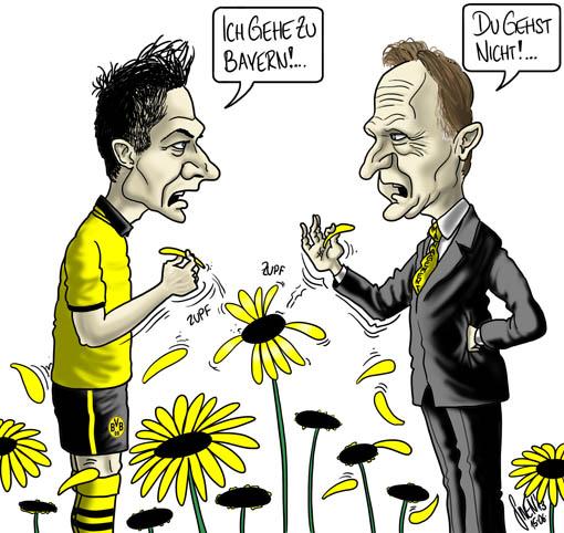 Lewandowski - Dortmund oder Bayern?