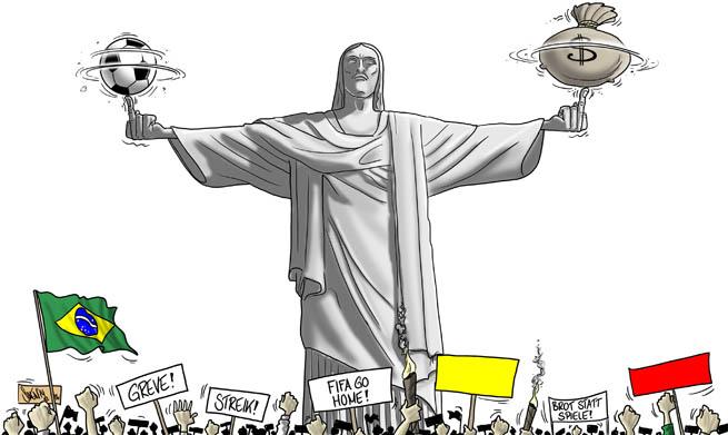 Brasilien: Fussball WM 2014