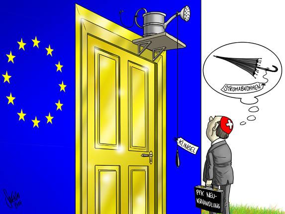 Personenfreizuegigkeit / Neuverhandlung / Schweiz-EU