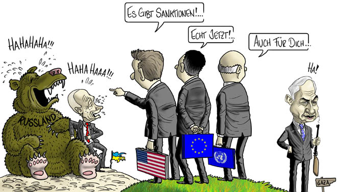 Russland/Ukraine - Sanktionen