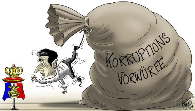 Sarkozy: Korruptionsvorwürfe