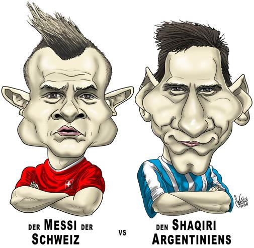 Shaqiri vs. Messi