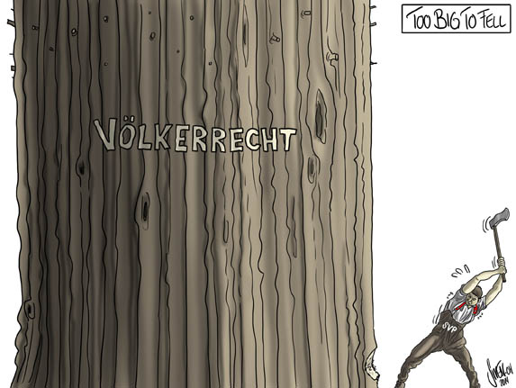 Völkerrecht SVP