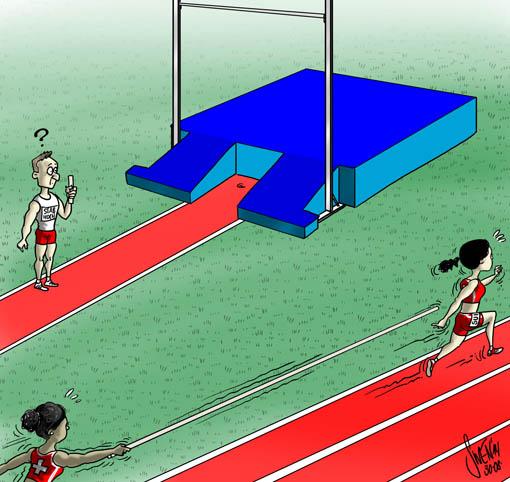 Schweizer Leichtathletik Staffel