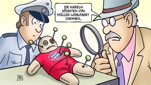 FC Bayern Voodoo Mueller Wohlfahrt