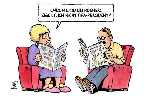 Vorschlag: Uli Hoeness als FIFA-Präsident