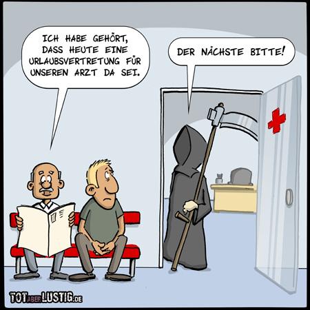 Arzt - Urlaubsvertretung
