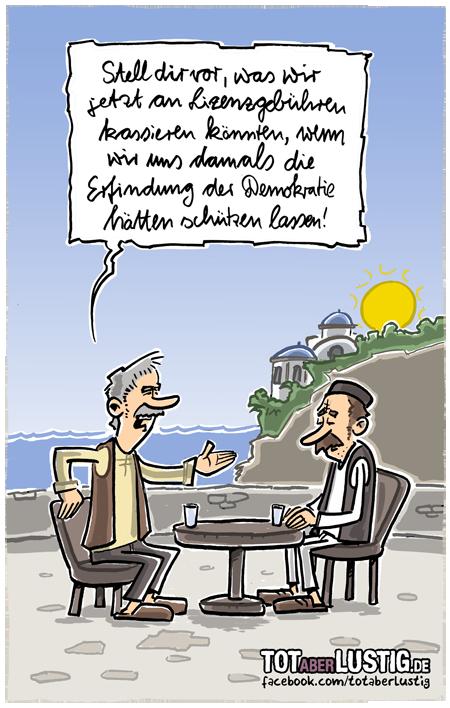 Griechenland und die Demokratie