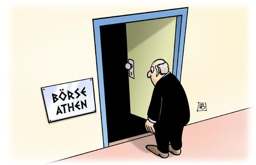 Börse in Athen