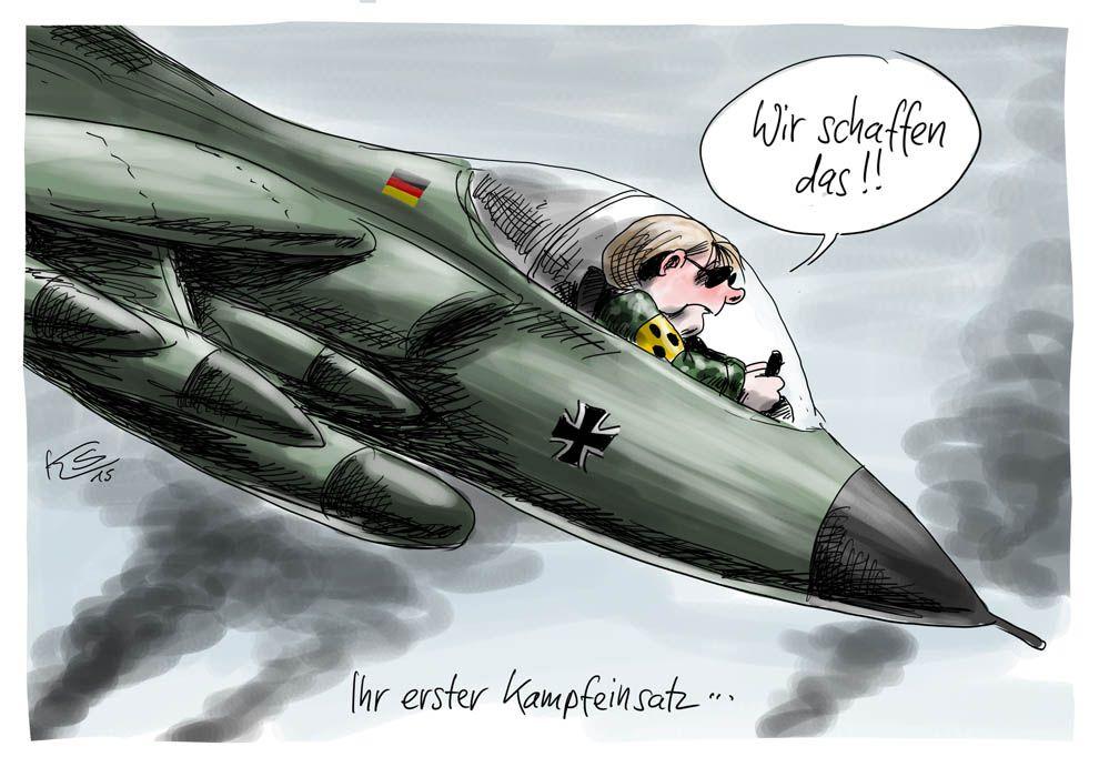 Merkels erster Krieg