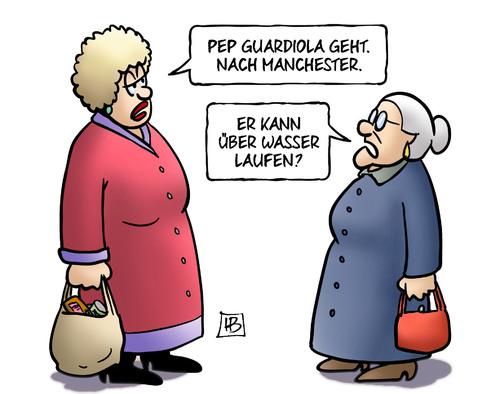 Pep Guardiola (Bayern zu Manchester?)