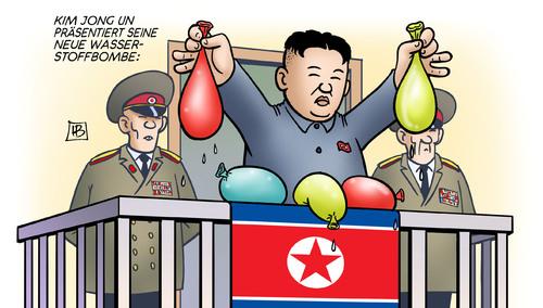 Kim Jong Un: Wasserstoffbombe