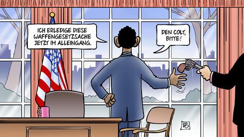USA: Obama gegen das Waffengesetz