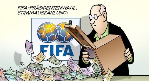 FIFA: Stimmenauszählung