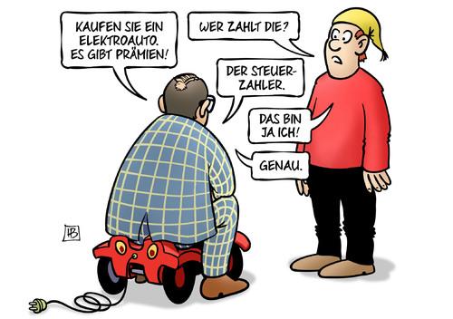 4000 Euro Kaufprämie von Elektroauto