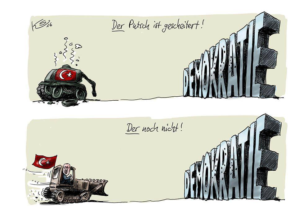 Putschversuch in der Türkei gescheitert?