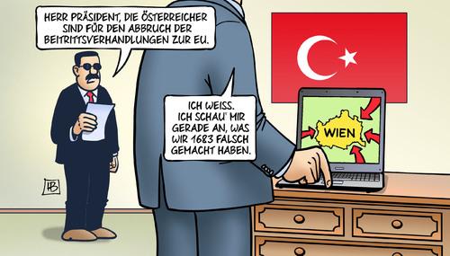 EU-Beitritt der Türkei: Österreich für Abbruch