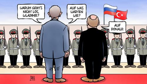 Putin & Erdogan: Einer fehlt noch