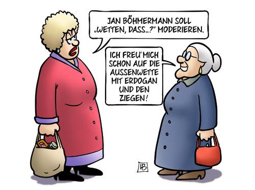 Wetten dass..? mit Jan Böhmermann: Aussenwette mit Erdogan