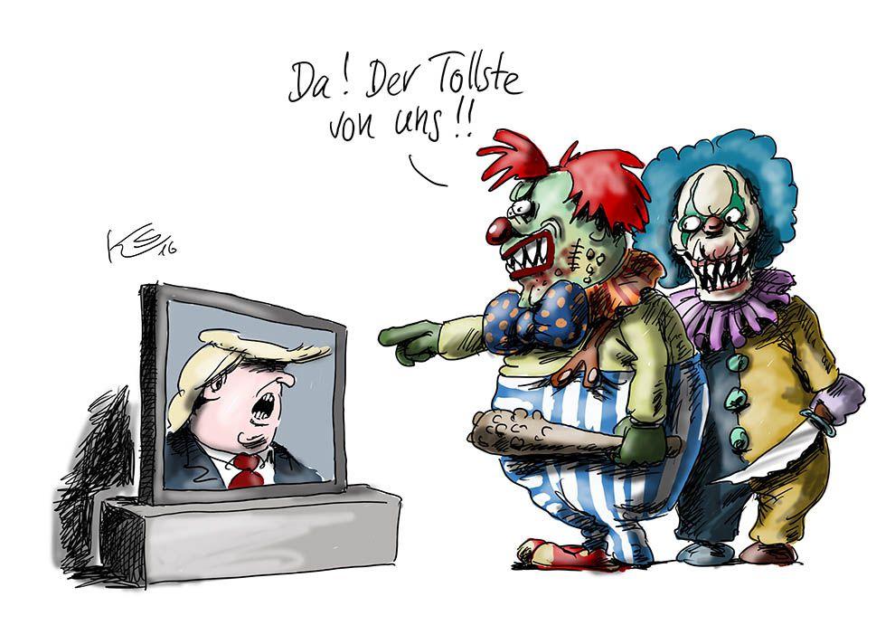 Trump: Der beste Clown