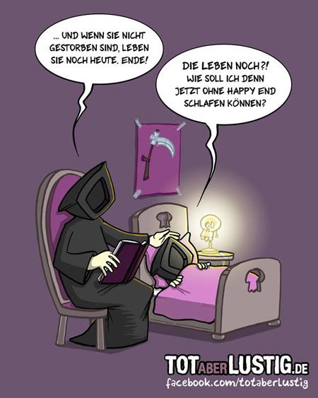 Gute-Nacht-Geschichte ohne Happy End