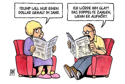 Trump: Der 1 Dollar-Präsident