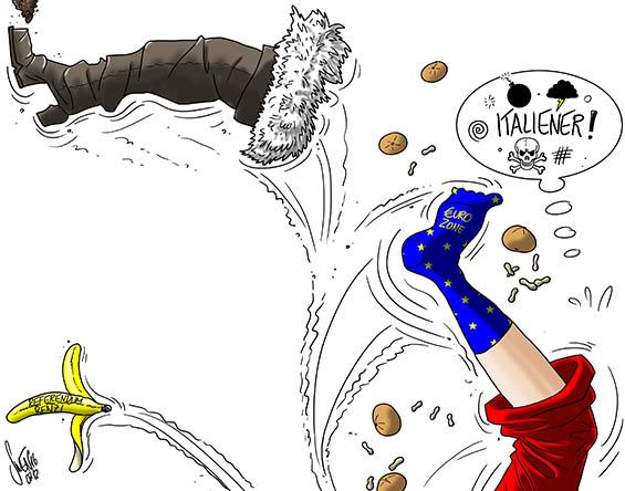 EU: Italien gibt bald den Austritt