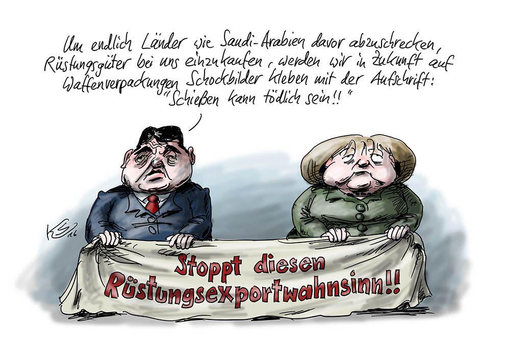 Waffenexport: Deutschlands Abschreckungsversuch