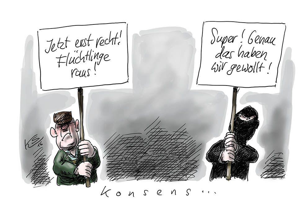 Terroristen: Ziel erreicht?!