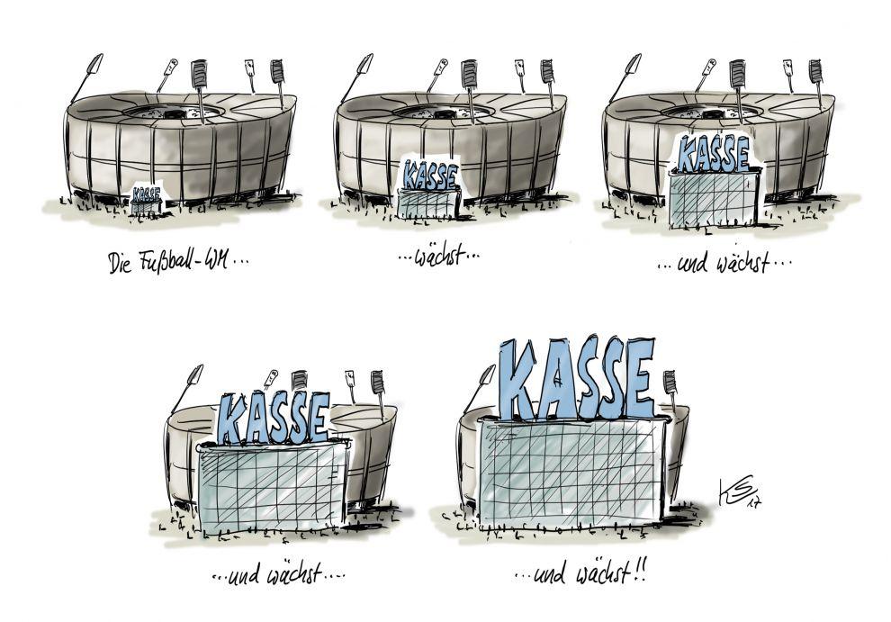 FIFA WM 2026: Die Kasse klingelt