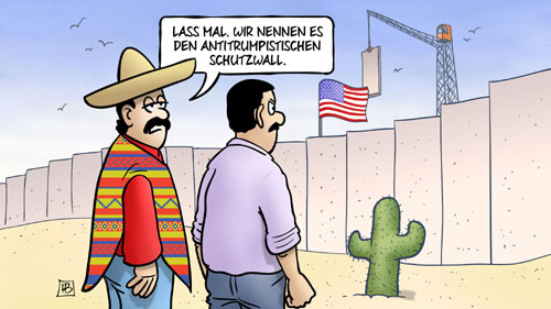 Trump: Mauer zu Mexiko