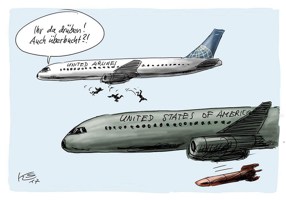 Überbuchte Flüge