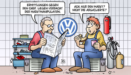 VW: Marktmanipulation
