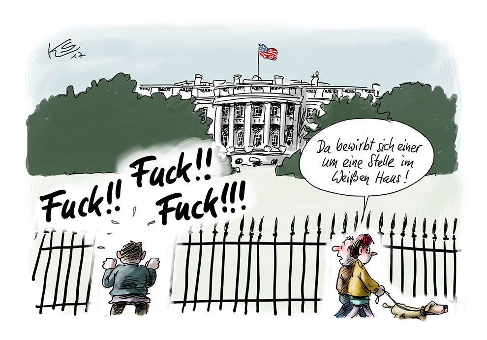 Bewerbung für das Weisse Haus