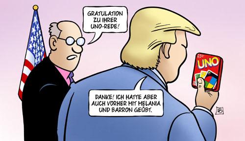 Trump vor UNO