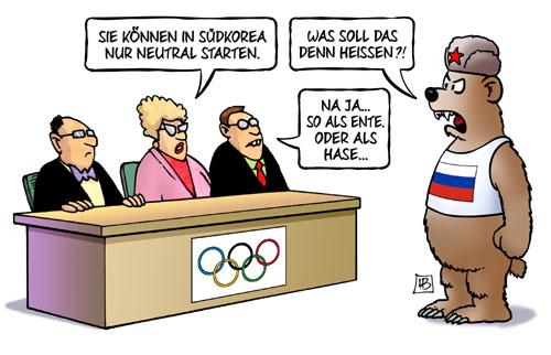 Olympia: Russische Athleten gesperrt - oder doch nicht?!
