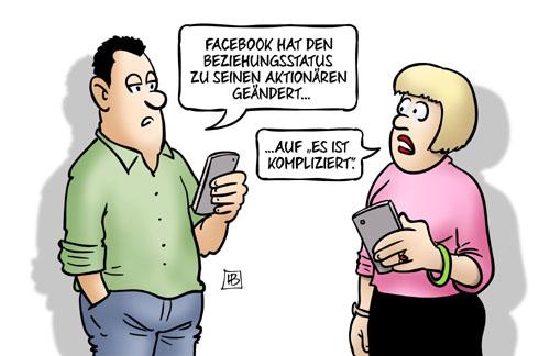 Beziehungsstatus von Facebook: Es ist kompliziert