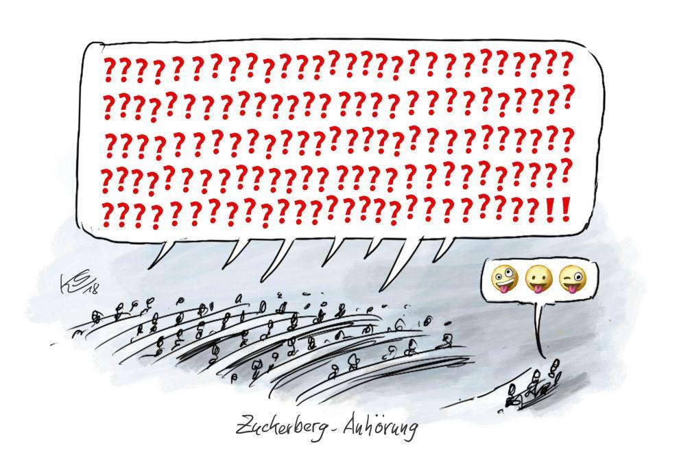 EU-Parlament: Zuckerberg-Anhörung