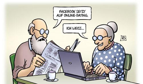 Facebook setzt auf Online Dating