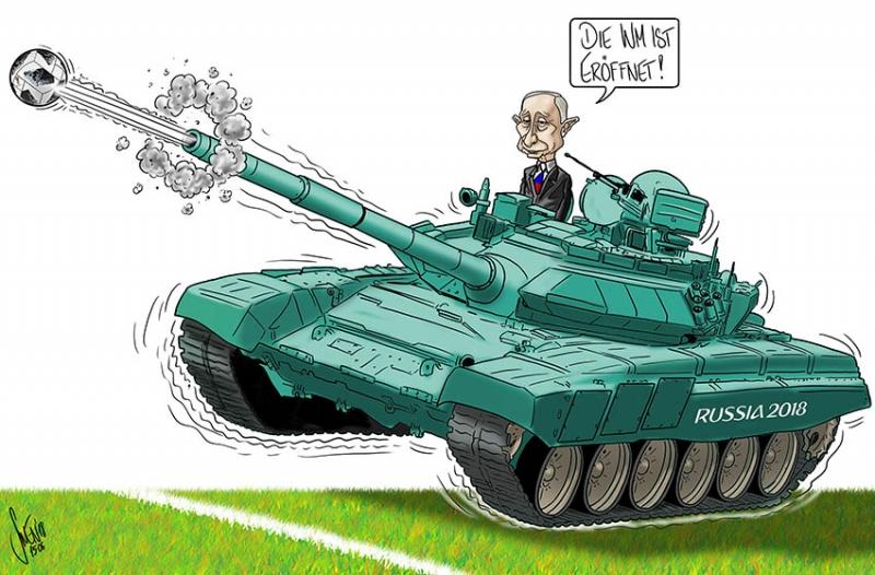 FIFA WM 2018: Die Welt zu Gast bei Putin