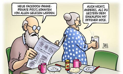 Facebook: Neue (Daten-)Panne