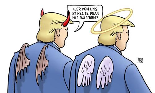 Trumps zwei Gesichter