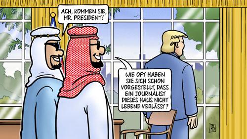 Trump und der Fall Khashoggi