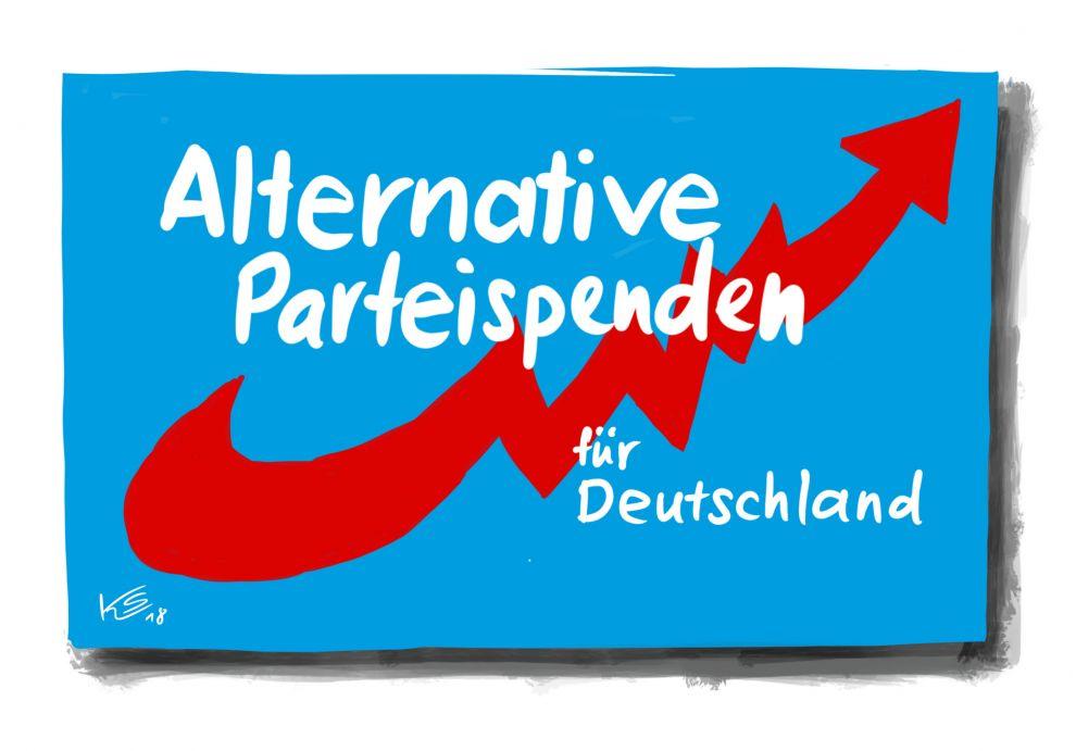 AfD: Alternative Parteispenden für Deutschland