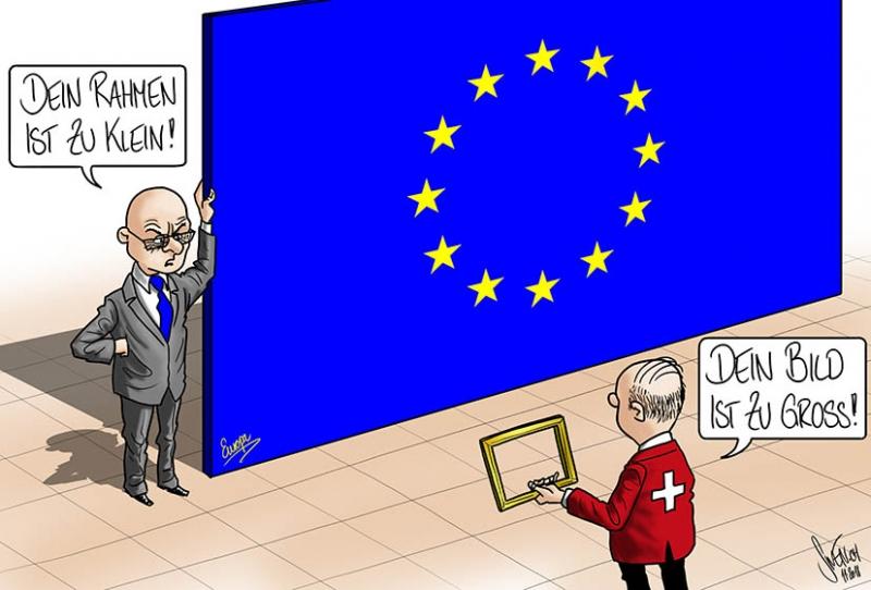 EU vs. Schweiz - Rahmenabkommen