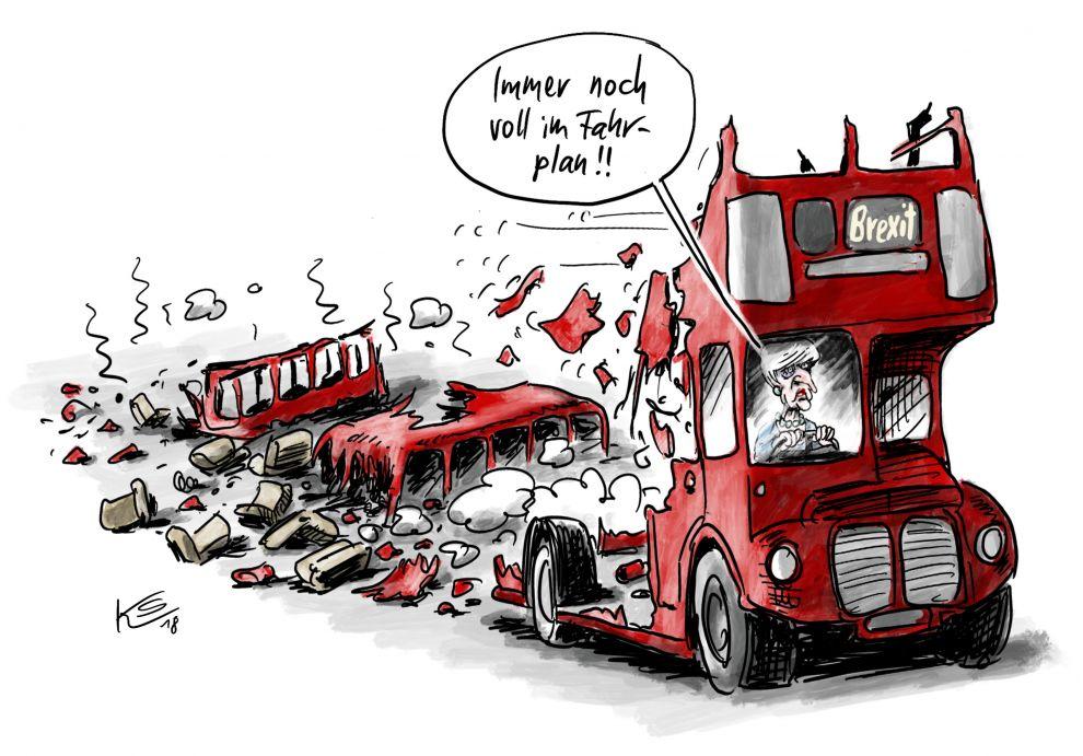 Brexit: Immer noch im Fahrplan