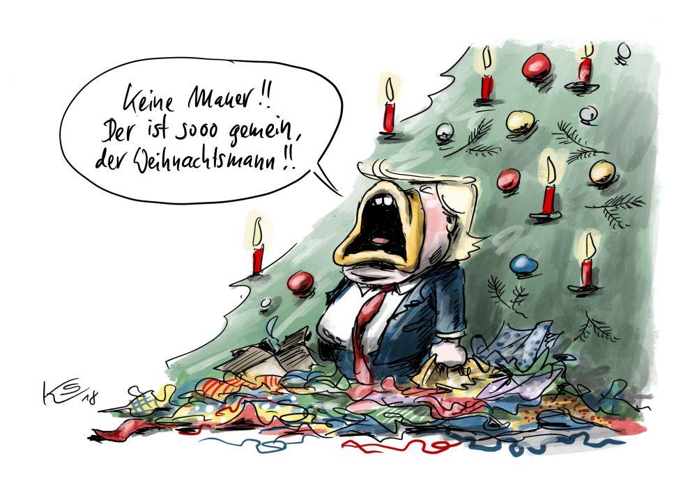 Keine Mauer für Trump