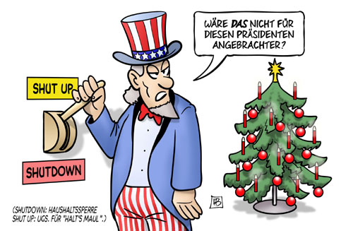 Shutdown in den USA